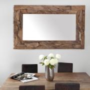 Zrkadlo Tribe 160cm - recyklované drevo