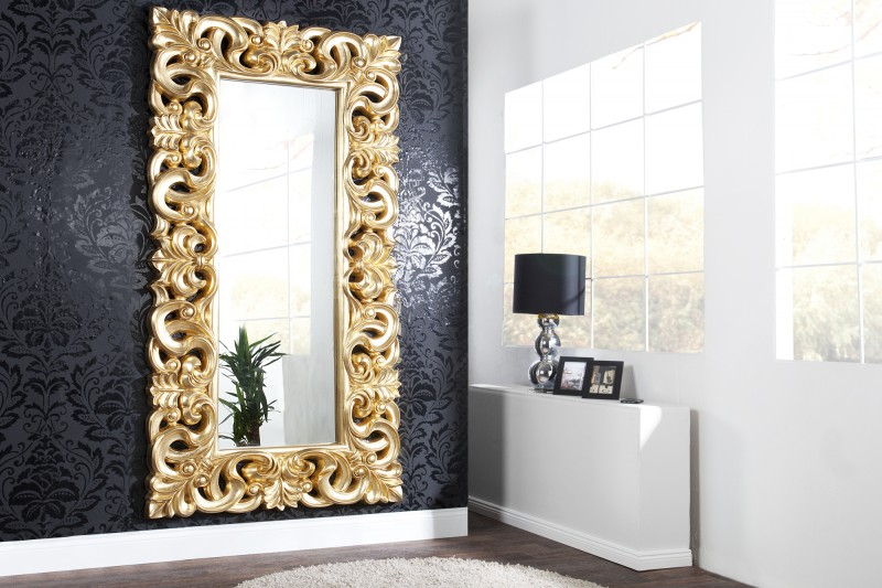 Zrkadlo Venice antická zlatá 180cm