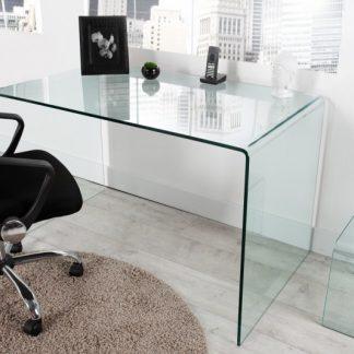 stôl Ghost - sklo 120cm